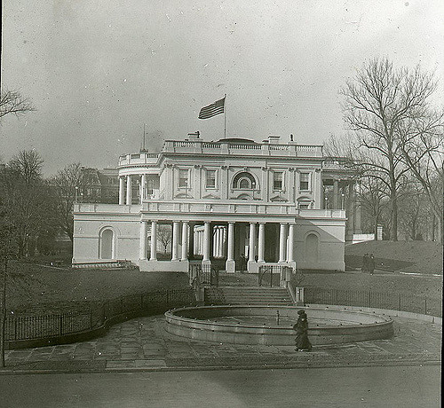 East Entrance of the White House