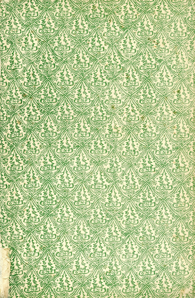 Green tree pattern