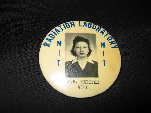 ID Badge for MIT Radiation Lab.