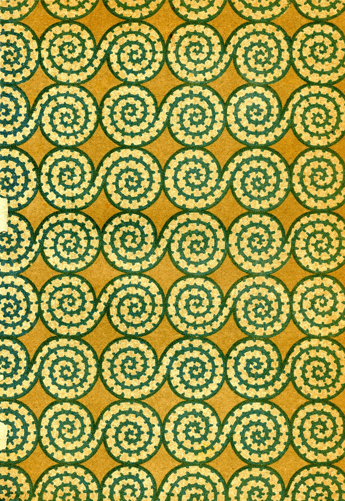 Yellow & green pattern