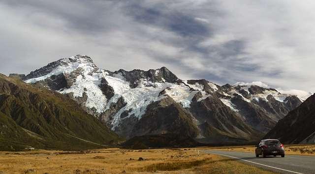 Mount Sefton. Mt Cook National Park. NZ