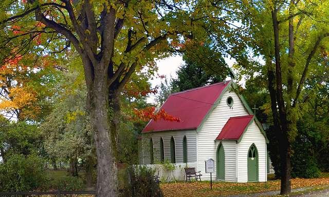 St Paul's Anglican Church. Arrowtown.NZ