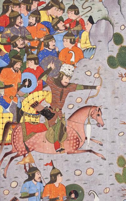 Rustam Shoots Isfandiyar in the Eye LACMA M.2009.44.4 (4 of 7)