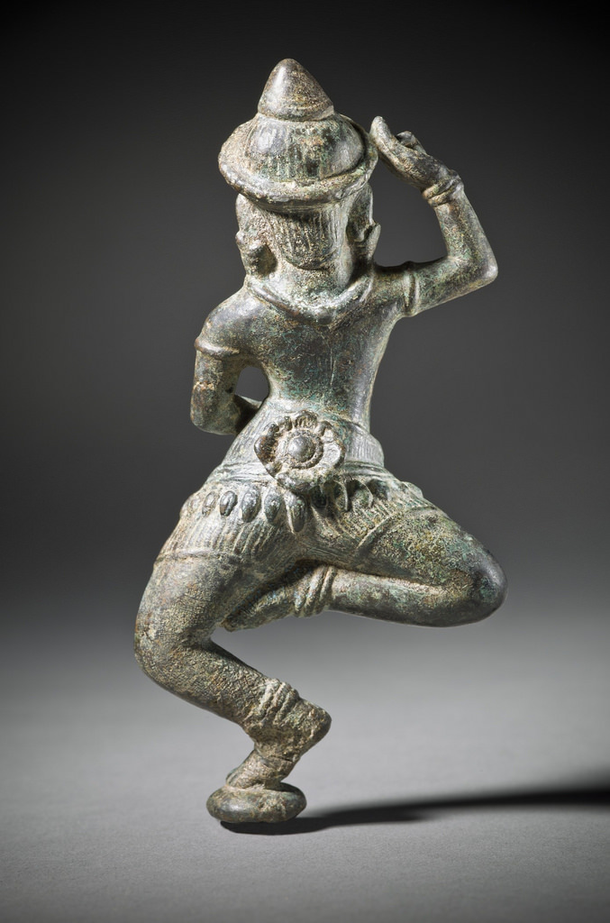 Dancing Celestial Female (Apsaras) LACMA M.84.217 (2 of 2)