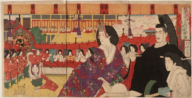 Girl's Festival, Hinamatsuri LACMA M.84.31.203a-c