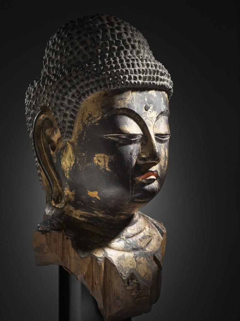 Head of a Buddha LACMA M.2011.22 (7 of 11)