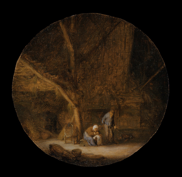 Interior with a Peasant Family LACMA 49.9.2