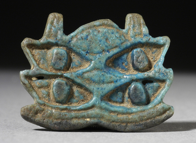 Multiple Eye of Horus Amulet LACMA 50.4.6.9