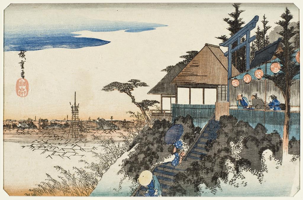 Myojin Shrine, Higashizaka, Kanda LACMA M.2003.67.29