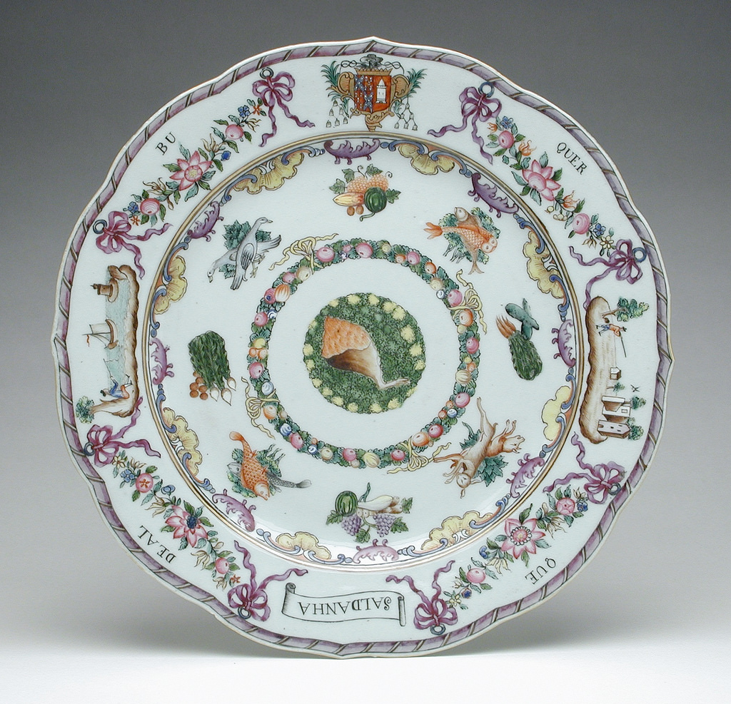 Pieces from an Armorial Dinner Service LACMA 55.36.9.1-.7a-b (4 of 6)