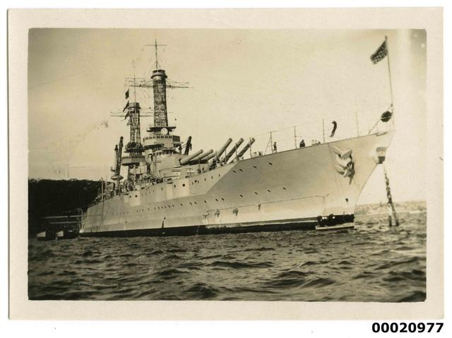 New Mexico class battleship, July 1925