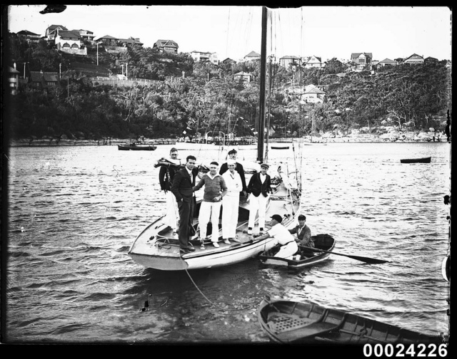 Opening yacht season at the Royal Sydney Yacht Squadron, 1909-1930