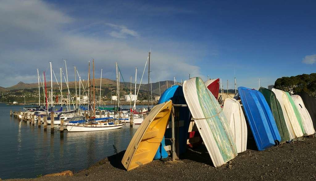 At the marina. Port Lyttleton.