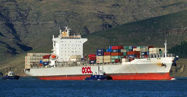 OOCL DALIAN.(Container ship)