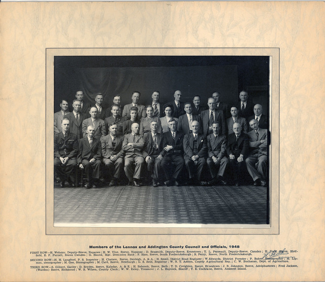 1948 Lennox & Addington County Council