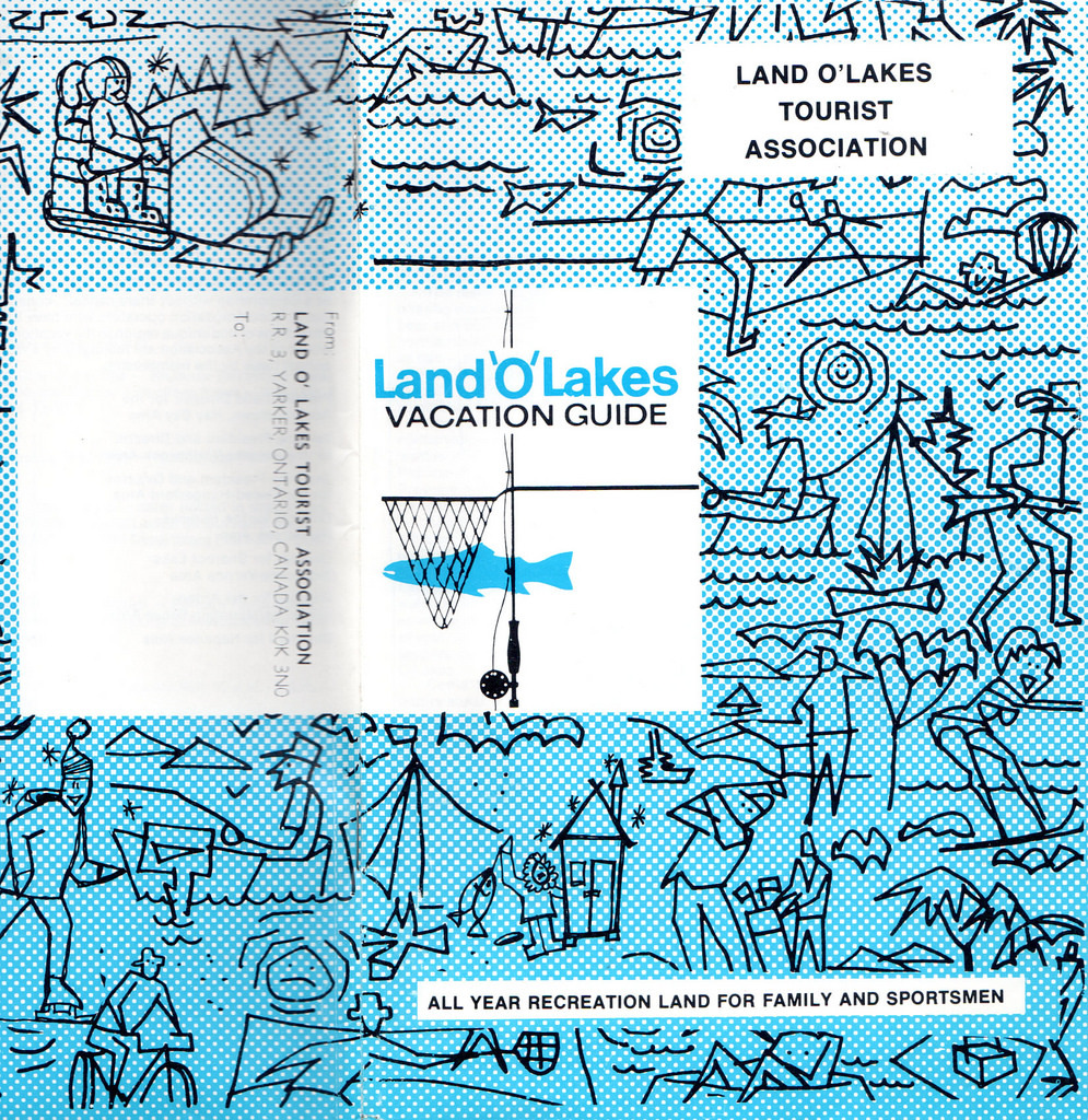 Cover of Land O' Lakes 1977-78 Vacation Guilde