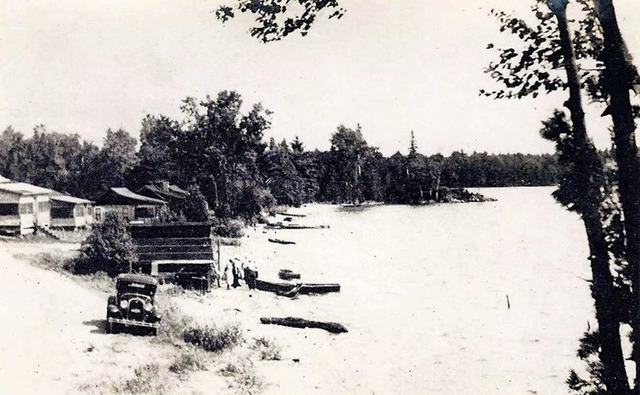Beach on Sand Lake -Plevna 1925