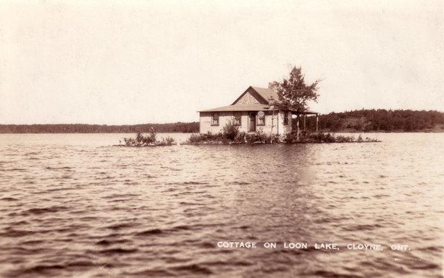 Mike's Island Post Card - Loon Lake (Skootamatta)