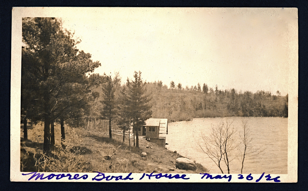 Moores Boat House May 26, 1926