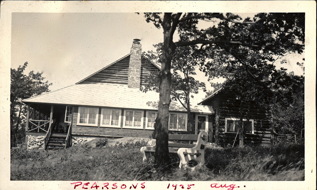 Pearson Cottage August, 1925