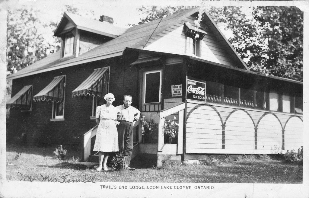 Trails End Lodge on Loon Lake (Skootamatta)