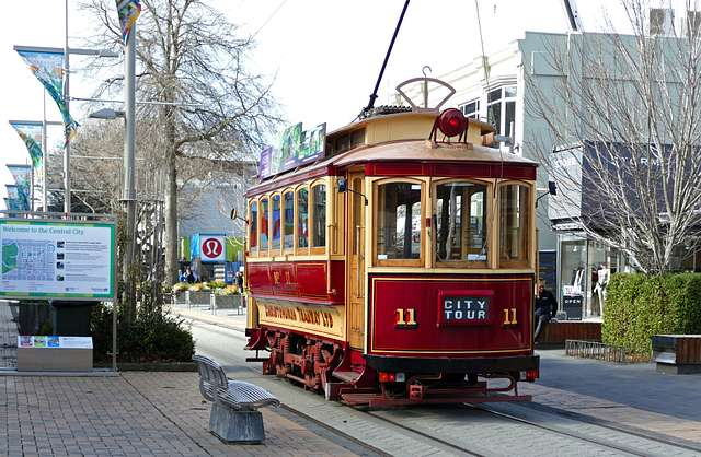 Tram 11: 'The Boxcar' Christchurch