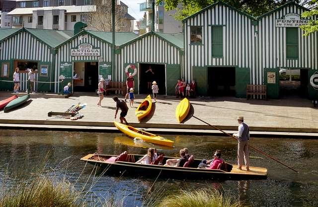 Antigua Boat Sheds. Christchurch NZ