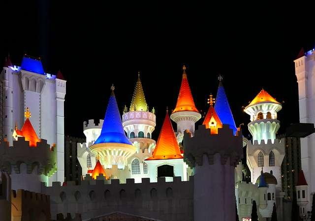 Excalibur Hotel and Casino. Las Vegas.
