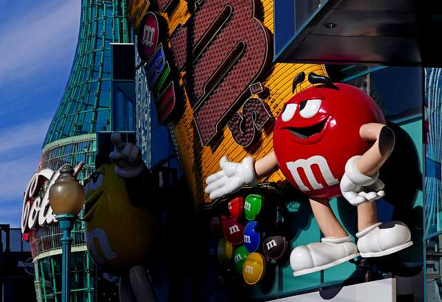 M&M's World. Las Vegas.