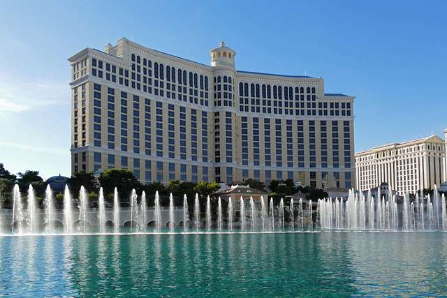 Fountains Of Bellagio.Las Vegas.