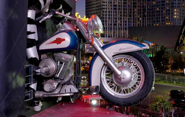 Harley Davidson Cafe. Les Vegas.