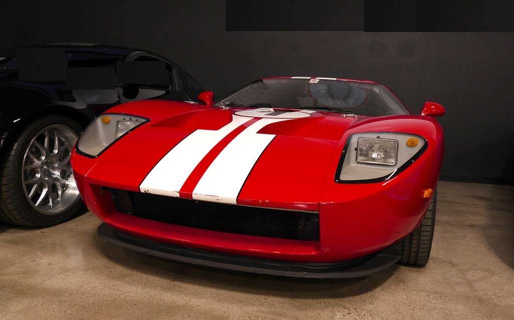 Looks fast..is fast....Ford GT.