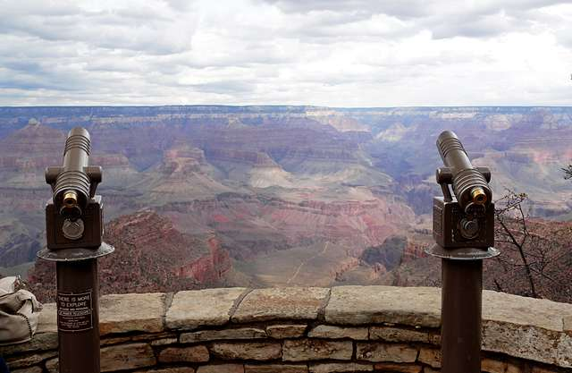 Grand Canyon view point.
