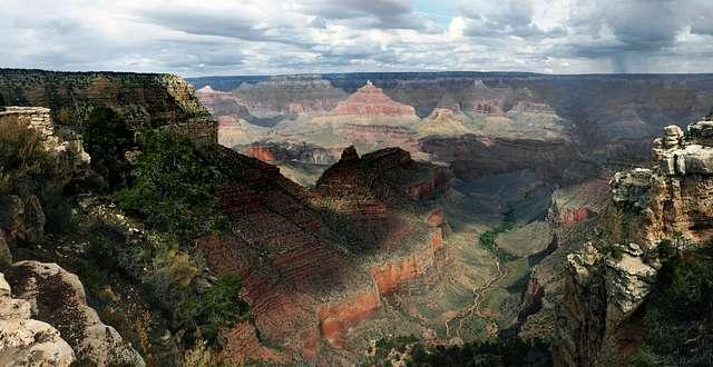The Grand Canyon AZ.