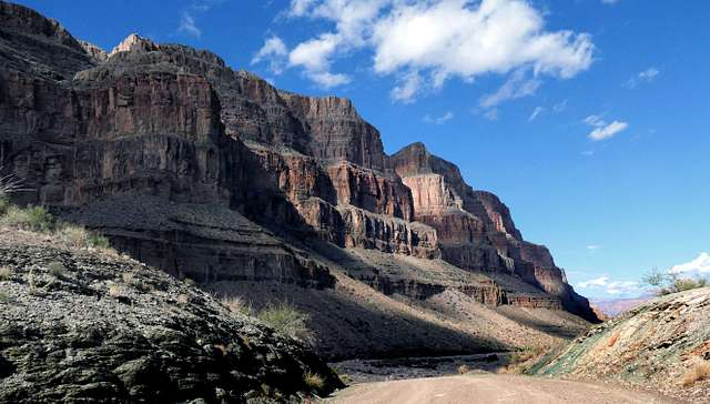 Deep in The Grand Canyon.