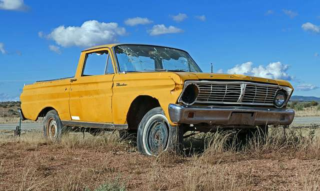 Ford Ranchero, Route 66.