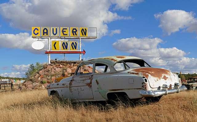 Oldsmobile. Route 66.