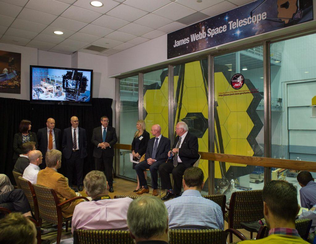 James Webb Space Telescope Mirror Reveal