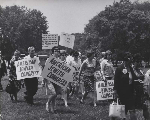 American Jewish Congress at Soviet Jewry Solidarity Day, 1968