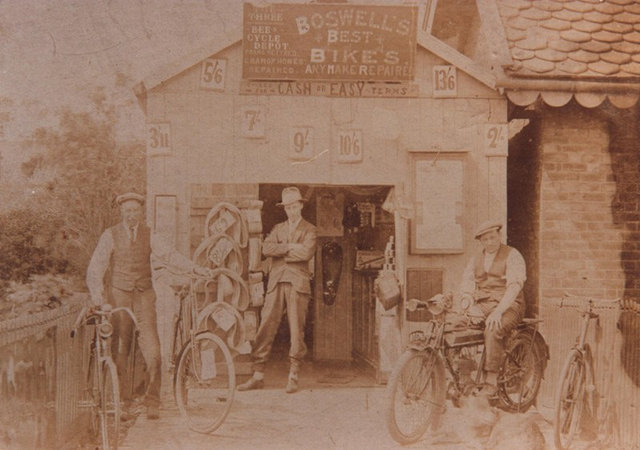 Boswell Bicycle Shop c.1920s (archive ref ddx1525-1-2 (77))
