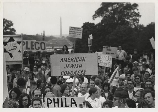 Freedom Assembly for Soviet Jews, Washington, D.C., 1973