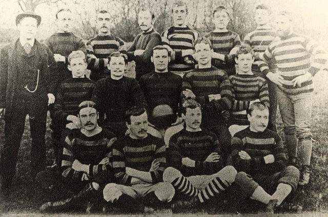 Hessle 2nds (East Yorkshire) Football team 1885-86 (archive ref DDOW-2-11)
