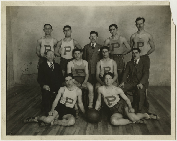 Runners-up in national Y.M.H.A. basketball tournament, April 1927