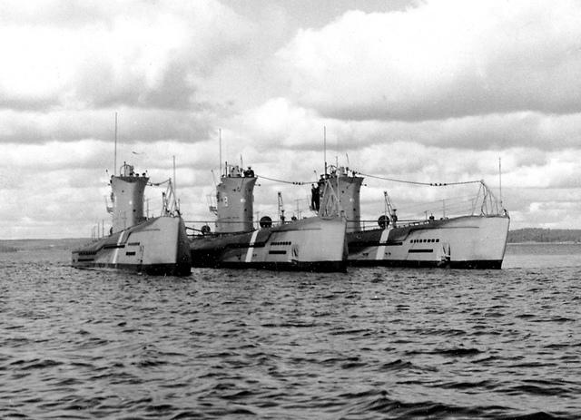 Ubåtarna Najaden, Näcken och Neptun klass I