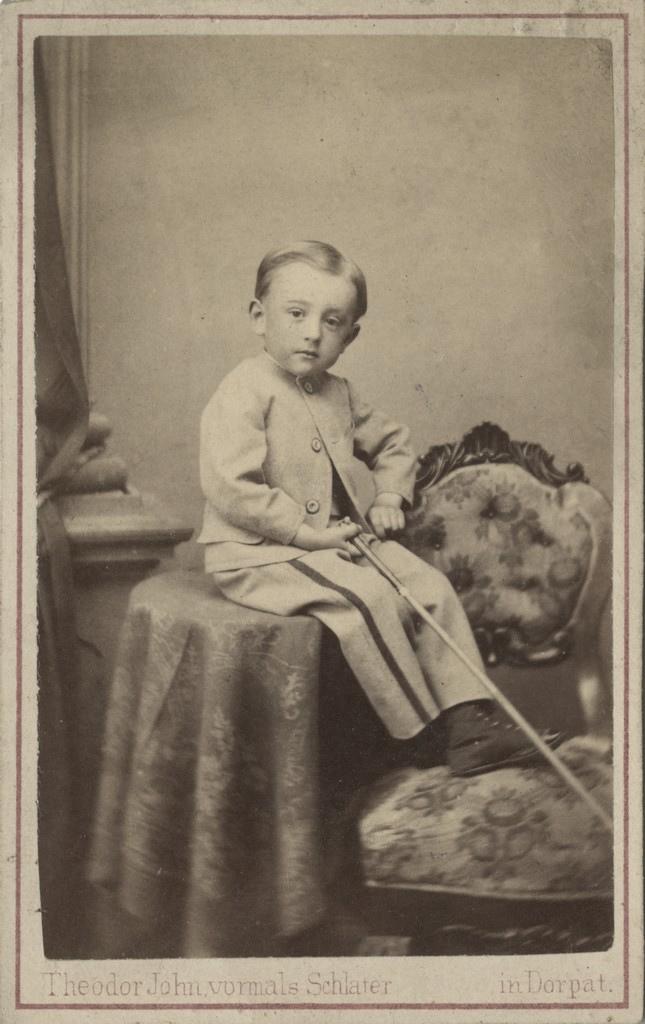 Elegantne poiss / A dapper young boy