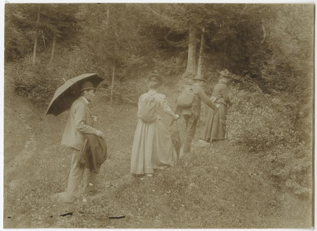 Matkalised teel metsa / Hiking into the Woods
