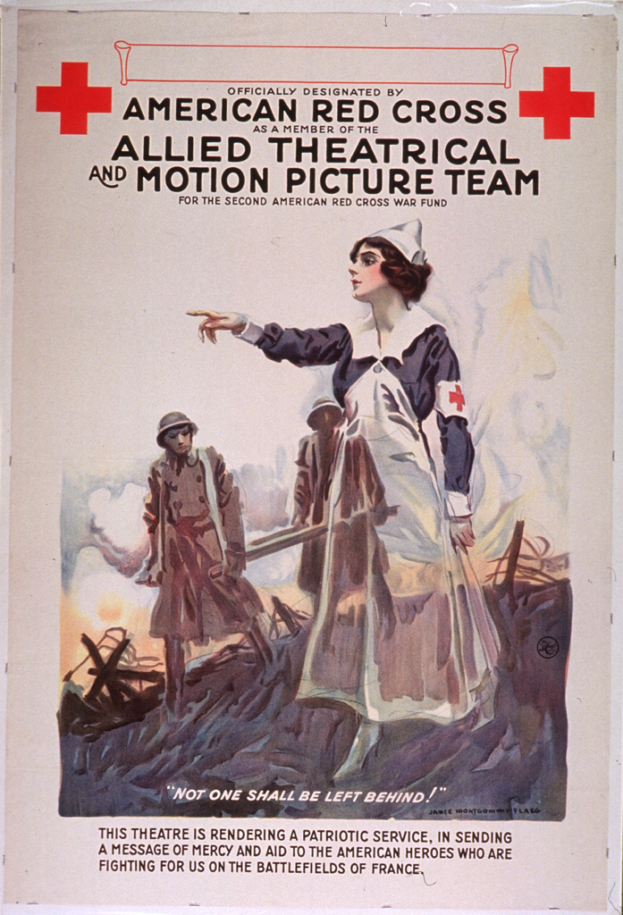 Officially designated by the American Red Cross as a member of the Allied Theatrical and Motion Picture Team for the second American Red Cross War Fund
