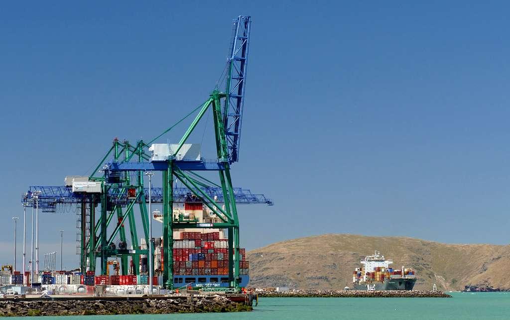 Port Lyttleton. NZ