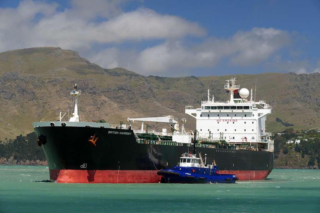 BRITISH HARMONY. Oil tanker.