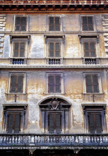 abandoned place, Rome